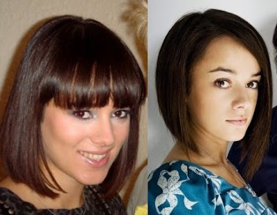 The best hairstyles for round face shapes include oval faced hairstyles.