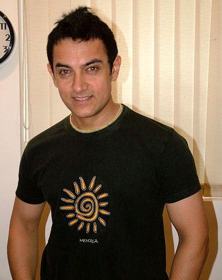 Bollywood Celeb Amir Khan Ghajini Promo Picture