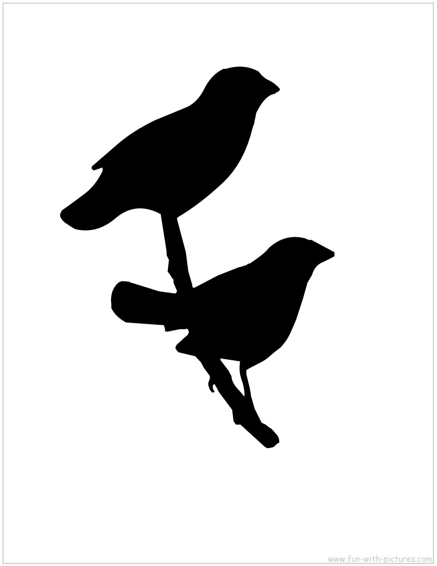 Quail Silhouette also (during th...
