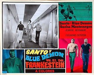 Schlock Treatment: 30th August 2008: Santo vs Frankenstein the Mexican