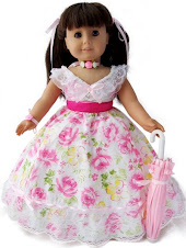 Pink Scarlet Victorian Dress