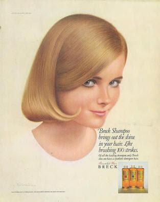 cheryl tiegs model. Cheryl Tiegs for Breck: