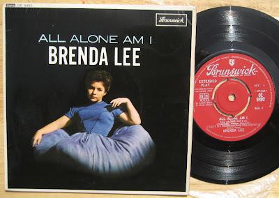 ALL ALONE AM I Chords - Brenda Lee | E-Chords