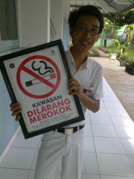 dilarang meroko