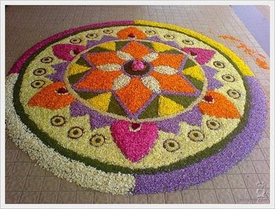 Rangoli Art Designs Flower Patterns Myspace Hi5
