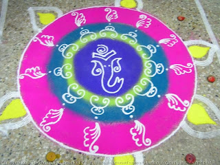 Beautiful Rangoli Designs Flower Patterns Myspace Hi5