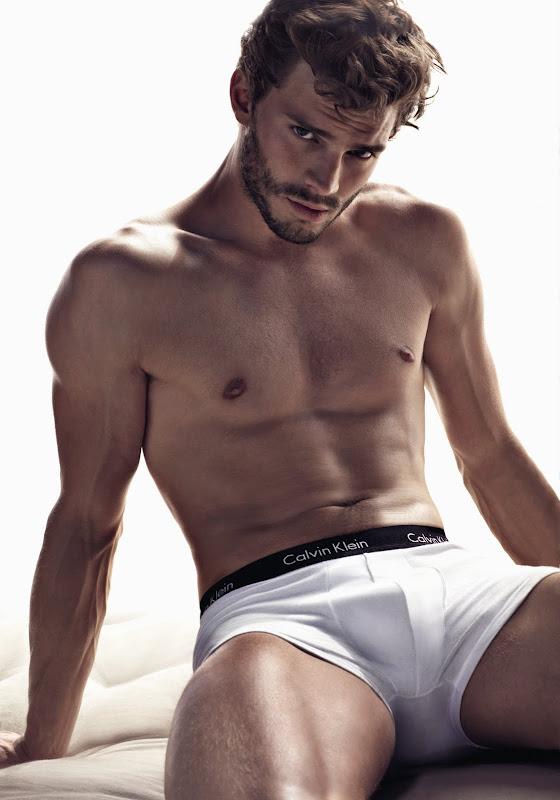 Jamie Dornan Modelling Calvin Klein Body Stretch Trunks