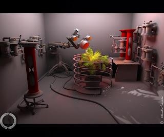 plant 3D essences laboratory