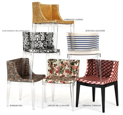 Philippe Starck S Missoni Fabric Mademoiselle Chair: Design De Interiores: Kartell Mademoiselle Haute