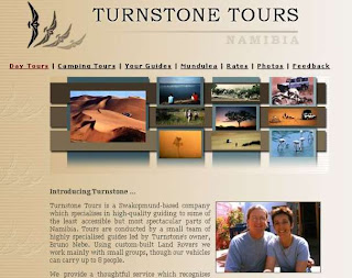Turnstone Tours Website