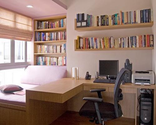 Best study room interior design home design online for Best place to study interior design