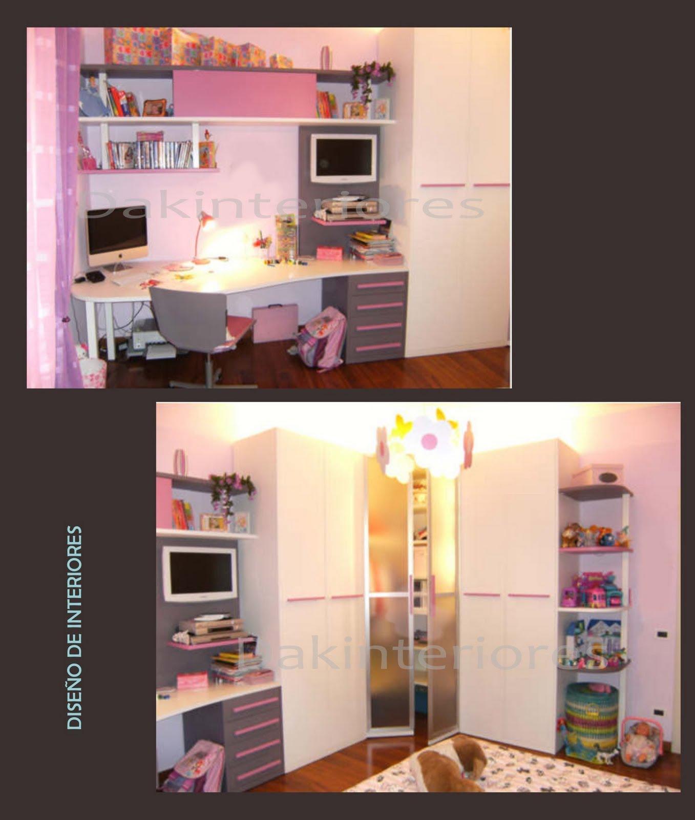 Dise O De Muebles Para Dormitorio De Ni A Casa Dise O