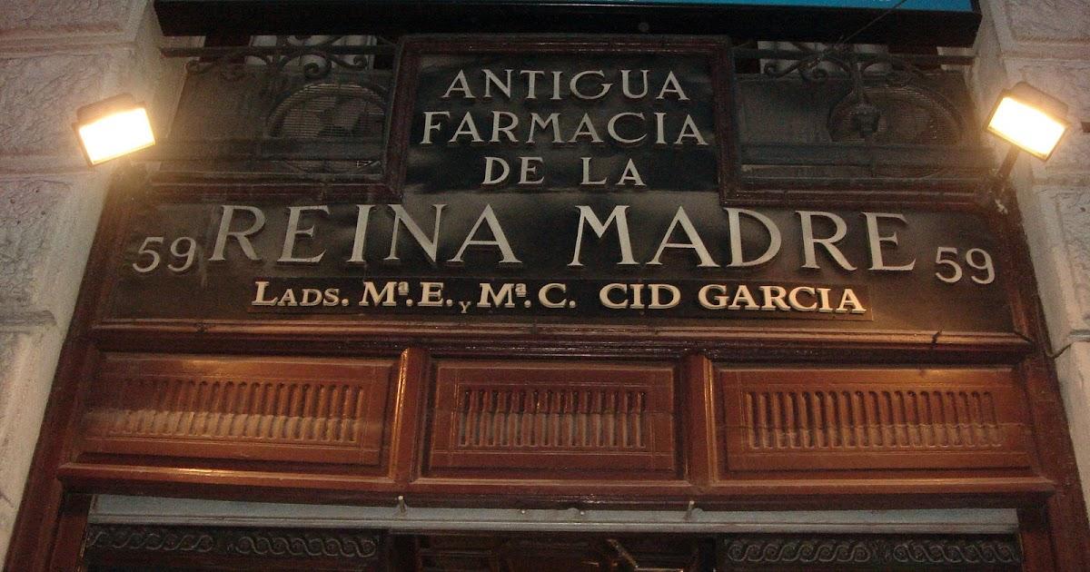 Historia y genealog a fue en madrid la farmacia de la for Calle jardin de la reina granada
