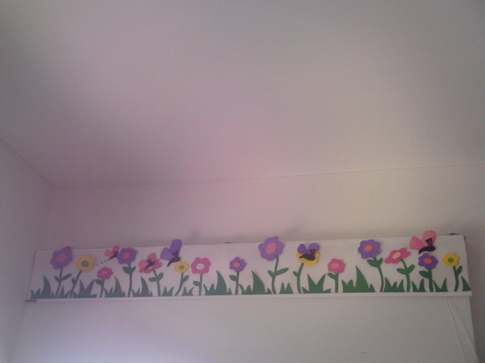 cenafas y cuadros para cuartos de ninos en fomi y pintura ala pared