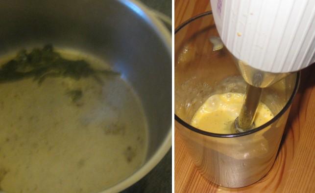 Zubereitung Schnelle Hollandaise, Zubereitung Sauce Hollandaise mit dem Zauberstab