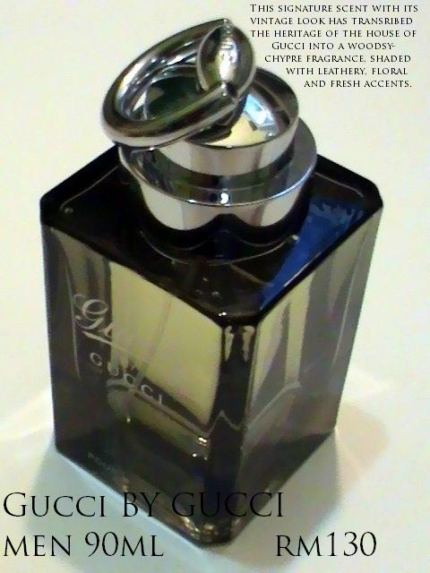 Gucci (new) by Gucci for Men, 100ml EDT Spray. Amirperfume price - RM130.