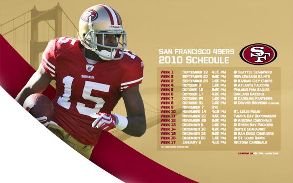 49ers 2016 Schedule Wallpaper