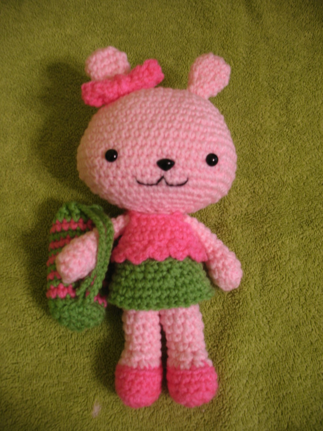 Pinky The Rabbit Amigurumi Crochet Pattern : Pinky the Bunny - Sayjai Amigurumi Crochet Patterns ~ K ...