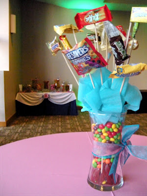 homemade wedding centerpieces