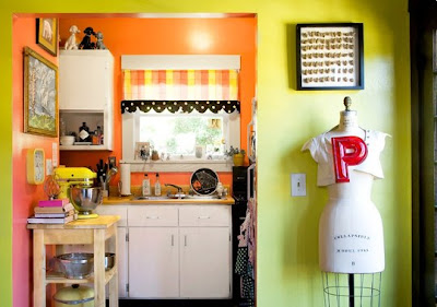 Yellow And Orange Kitchen Pictures