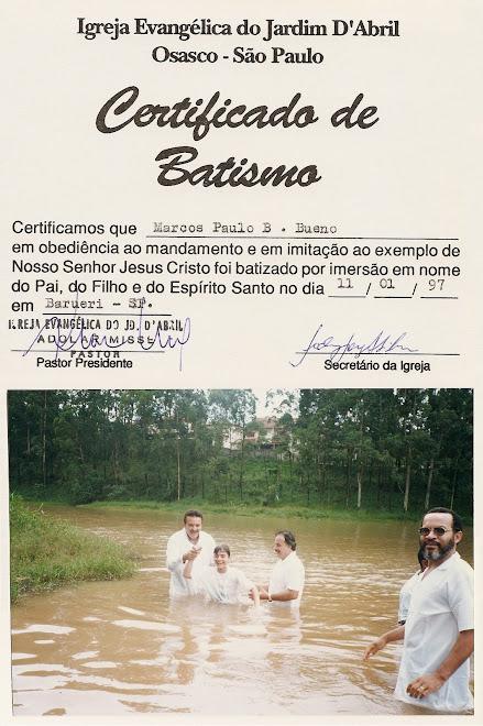 Batismo nas Águas IEJA