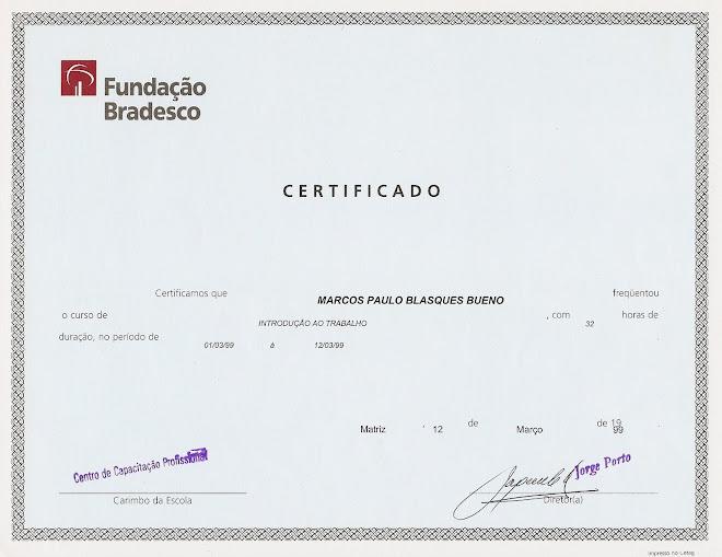 Fundação BRADESCO - Introdução ao Trabalho