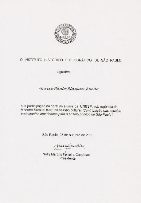 Instituto Histórico e Geográfico de São Paulo