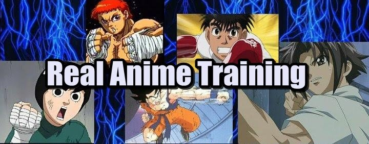 Real Anime Training