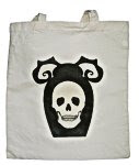 Skull Tombstone Tote
