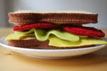 Let's Do Lunch Felty Sandwich tutorial