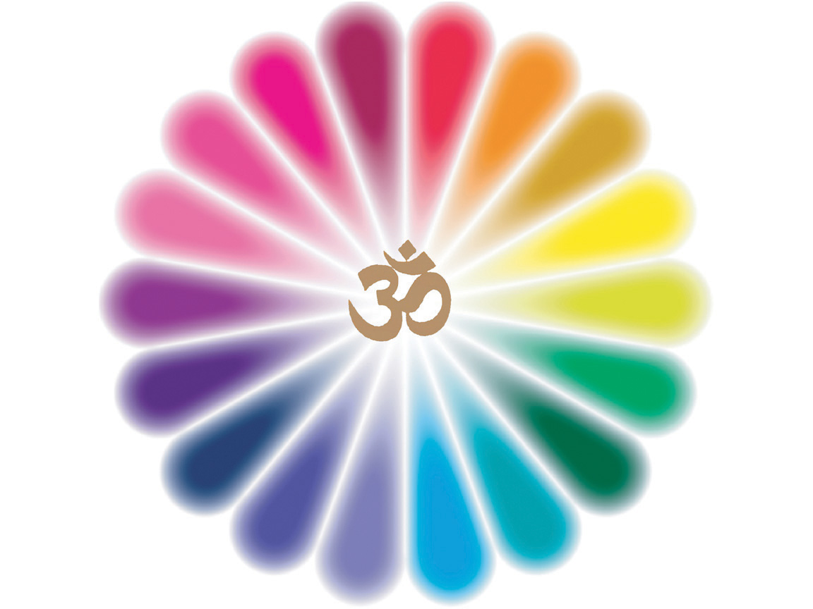 Evolution rainbow the gathering silent meditation om Om symbol images download