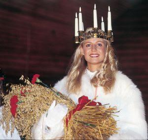Vendredi 13 décembre, Sainte Lucie dans La Franche Comté suede-avent