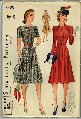 simplicity3429 Making Sewing Patterns