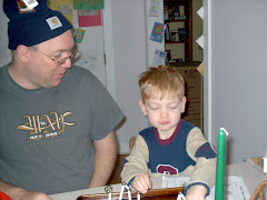 Dad and Tim 2005
