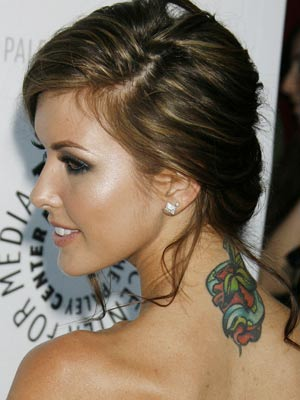 audrina patridge tattoo. Audrina Patridge Tattoo.