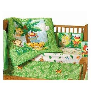 Rainforest Animals Crib Bedding