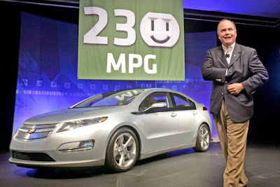 GM Chief Executive Frederick Henderson, and the Chevrolet Volt