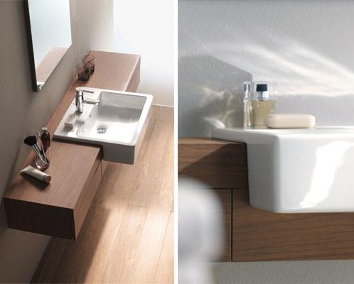 Badkamers tegels en sanitair: Duravit Fogo meubelconsole voor de ...
