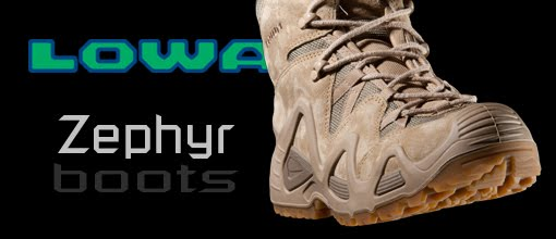 Leading the Charge: Lowa Zephyr Combat Boots from U.S. Cavalry
