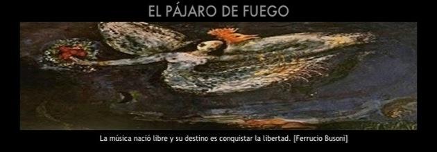 EL PÁJARO DE FUEGO