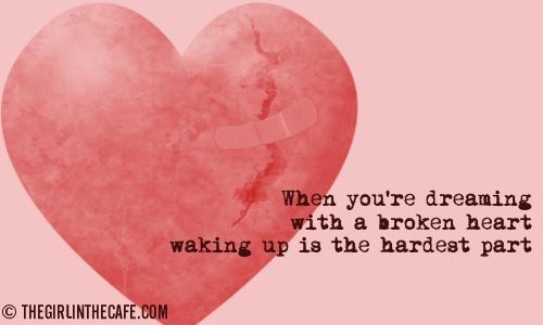 quotes for a broken hearted girl. roken heart quotes and