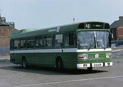 Standard single decker in the nationalised Crosville fleet