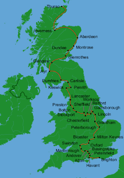 Britain by Bus: Complete Route