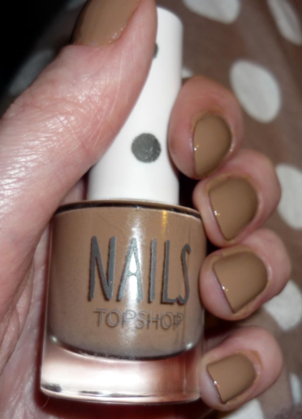 Lipstick Fever*: Topshop Nail Varnish - Geography Teacher
