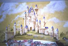A girls mural