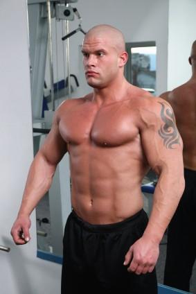 A Man's Body On Steroids