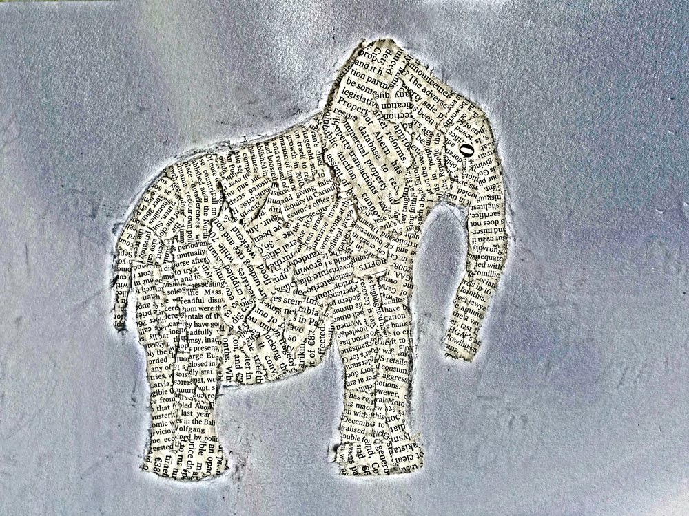 Papers Mache Elephant Crafts