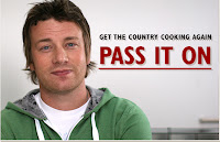 Jamie Oliver and his message of 'pass it on'