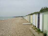 Beach huts at Bognor Regis