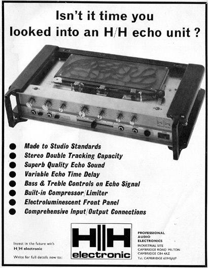 H/H ECHO UNIT Hh_echo_unit